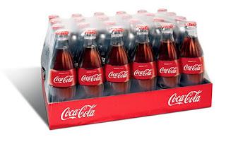 Coca-Cola Bottles Stacked