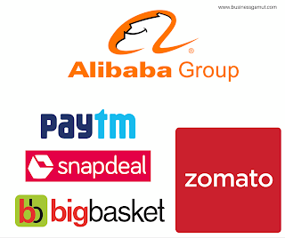 Alibaba investments in Indian Startups