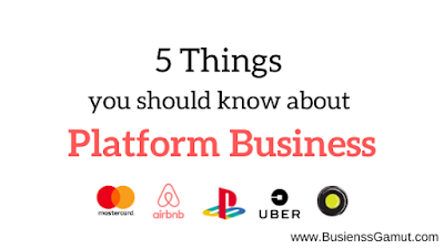 5 Things you should know about Platform business by businessgamut | Businessgamut.com | businessgamut